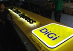 DIGI Backlit signage kuching